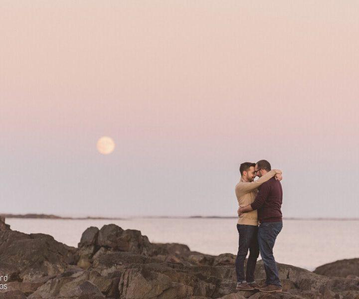 NH Engagement Photographer / Millyard Studios / William & Drew