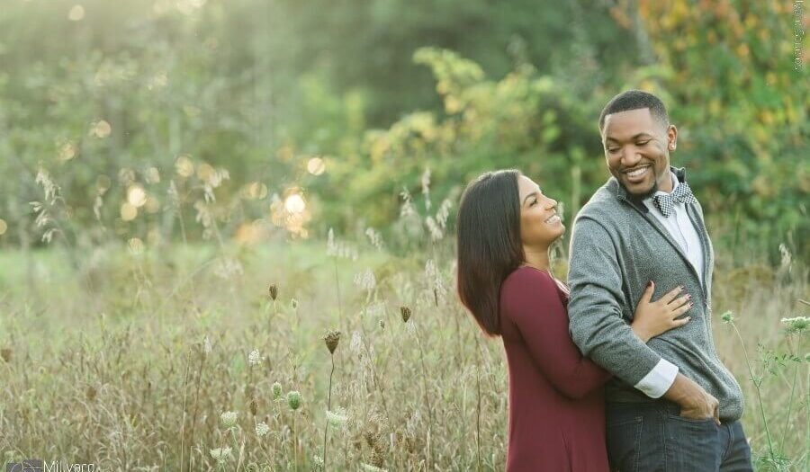 NH Engagement Session / Millyard Studios / Ontaya & Rolaundo