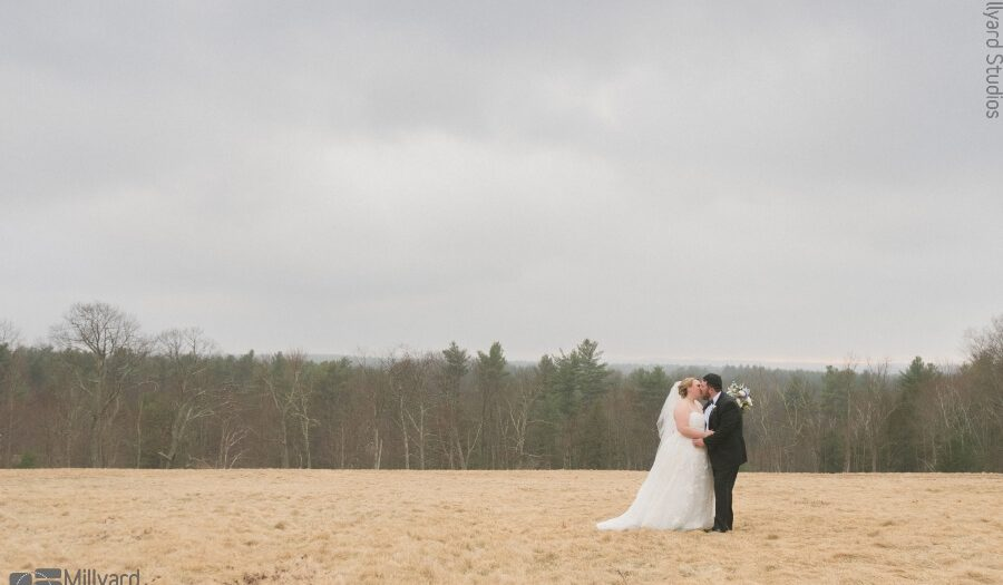 NH Wedding Photographer / Millyard Studios / Harrington Farm / Amanda & Al