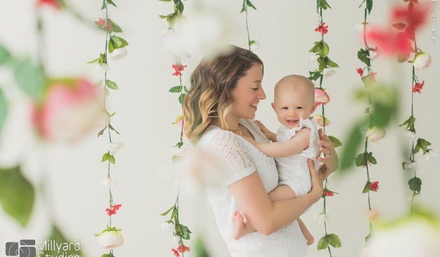 Best Baby Photographer NH Millyard Studios