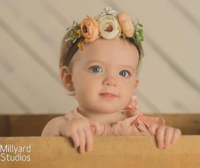 Baby Photographer One Year Birthday NH 6