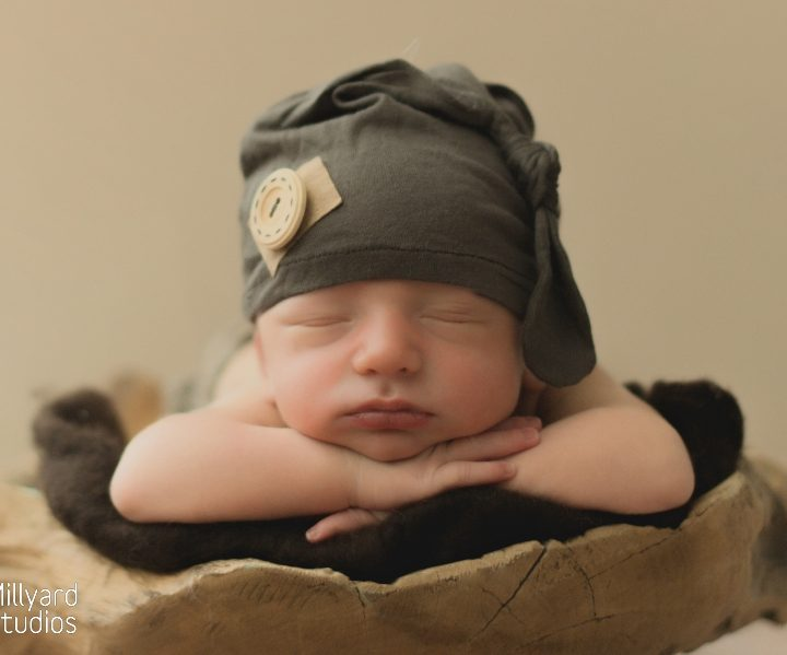 Newborn Photographer/ NH/ Millyard Studios/ Olive