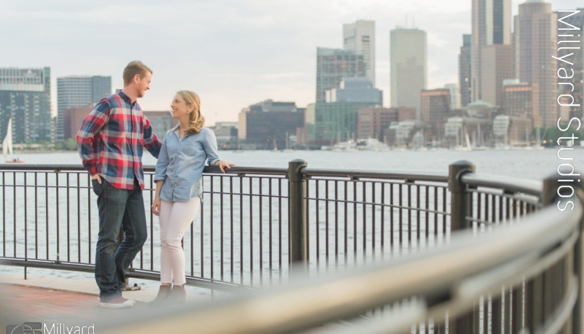 Boston Engagement Photographer Millyard Studios 2