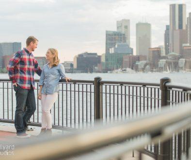 Boston Engagement Photographer Millyard Studios 2