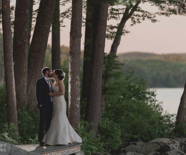 NH Wedding Photographer / Millyard Studios / Laughing Loon / Christina and Paul