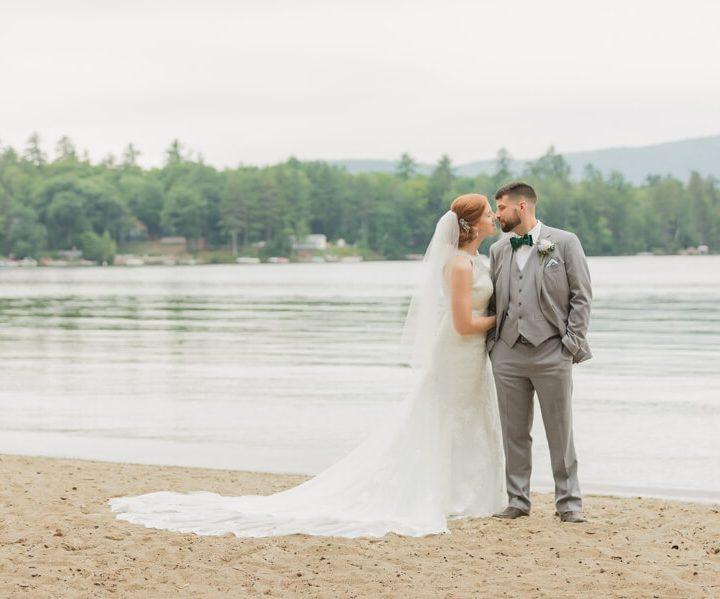 NH Wedding Photographer / Millyard Studios / The Inn on Newfound Lake / Caitlin & Brett