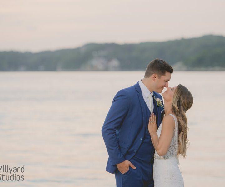 NH Wedding Photographer / Millyard Studios / Beauport Hotel Gloucester / Kendall & Kevin