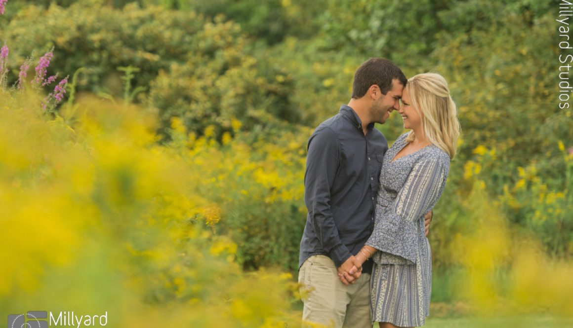 NH Wedding Photographer Millyard Studios Engagement Photos 3