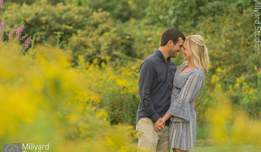 NH Engagement Photographer / Millyard Studios / Katie & Mark
