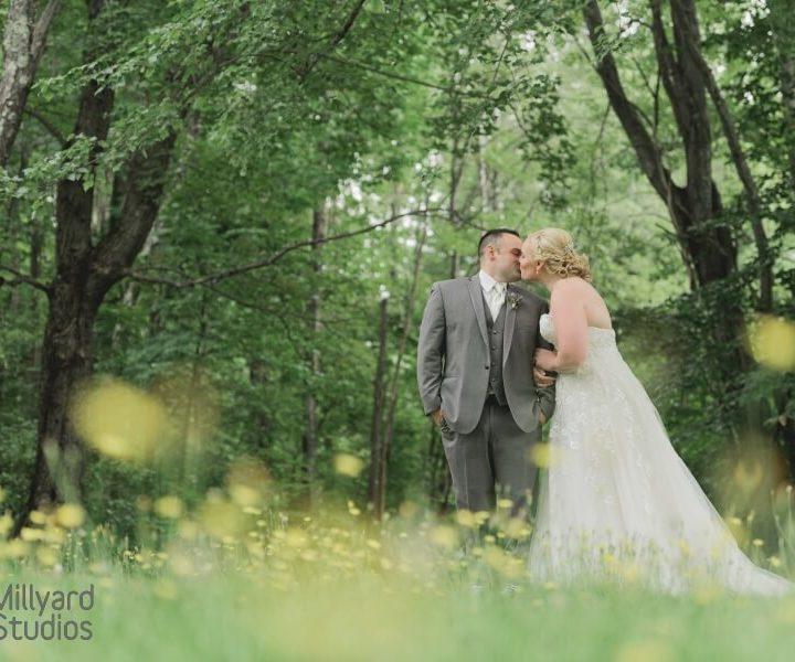 NH Wedding Photographer / Milllyard Studios / Andover Barn at Highland Lake / Sarah & CJ