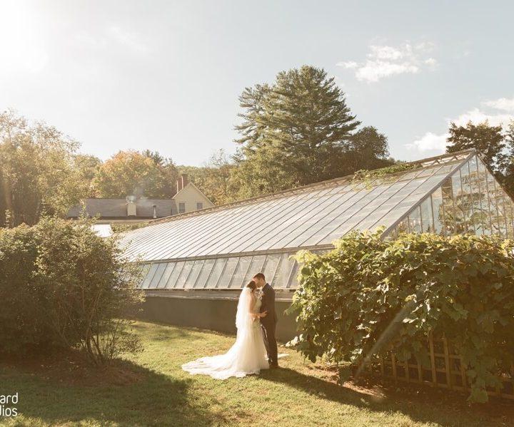 NH Wedding Photographer / Millyard Studios / The Common Man Inn and Spa / Kara & Nick
