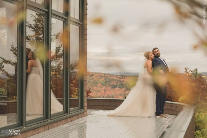 NH Wedding Photographer / Millyard Studios / Kayla & Tom / Point Lookout Resort