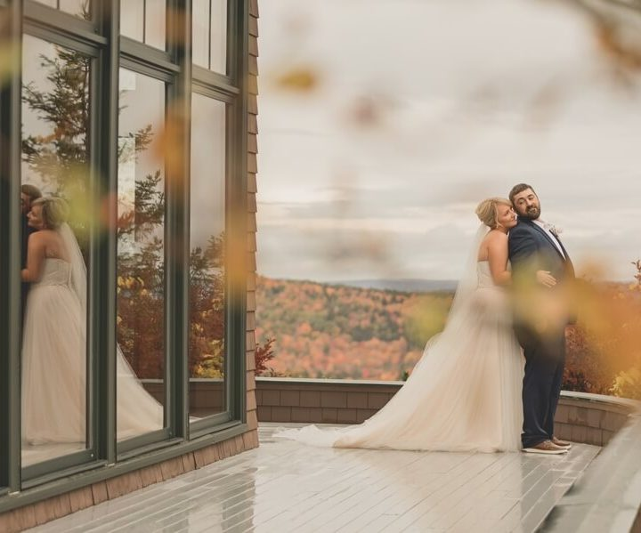 NH Wedding Photographer / Millyard Studios / Kayla & Tom / Point Lookout Resort