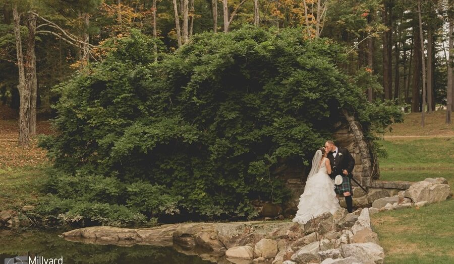 NH Wedding Photographer / Millyard Studios / Searles Castle / Ashley & Dustin