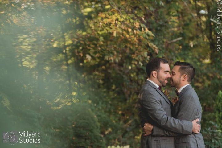NH Wedding Photographer / Millyard Studios / Bedford Village Inn / Bill & Drew