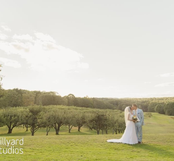 NH & ME Wedding Photographer / Millyard Studios / Clark's Cove Farm / Sara & Andrew
