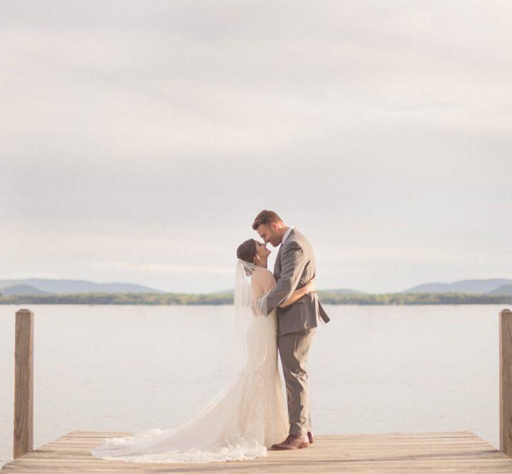NH Wedding Photographer / Millyard Studios / Wolfeboro Inn / Jessica & Bill