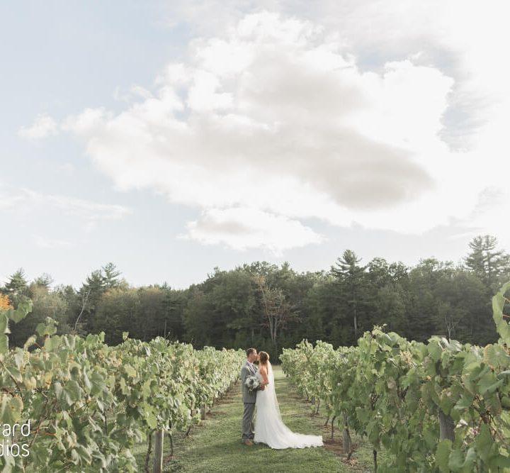 NH Wedding Photographer / Millyard Studios / Zorvino Vineyards / Caitlin & Rob