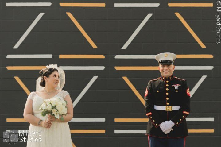 MA Wedding Photographer / Millyard Studios / Herter Park Amphitheater Wedding / Paola & Camilo