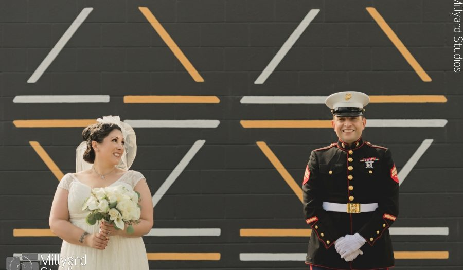 MA Wedding Photographer / Millyard Studios / Herter Park Amphitheater Wedding / Paola & Camilo