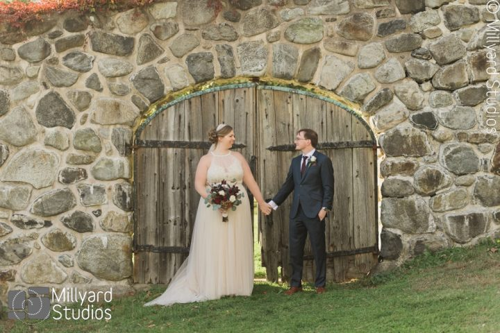 NH Wedding Photographer / Millyard Studios / The Barn at Crane Estate / Connie & Larry