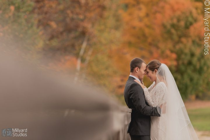 NH Wedding Photographer / Millyard Studios / Eagle Mountain House / Rachel & Patrick