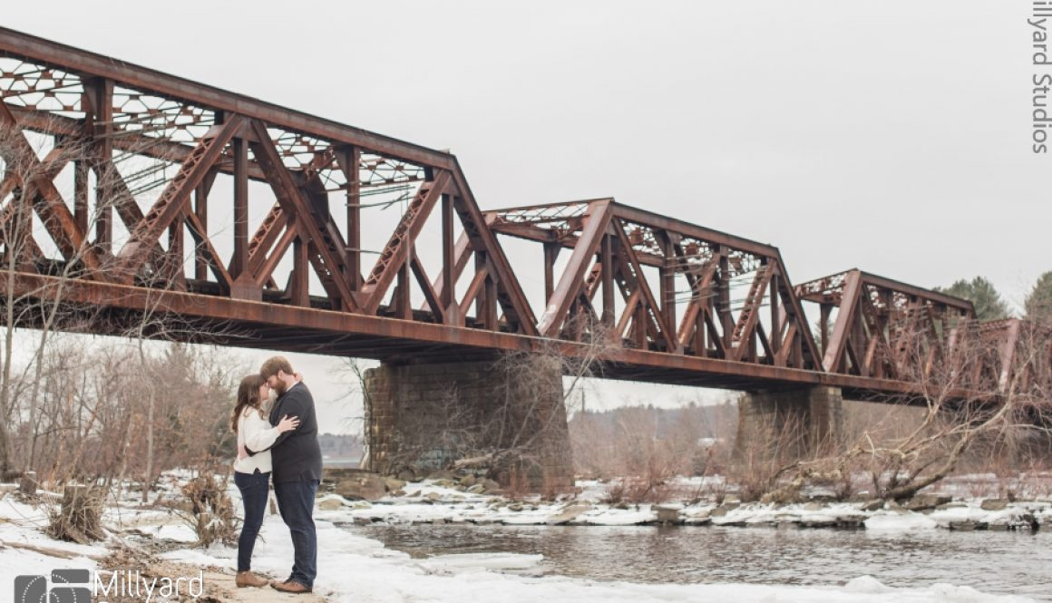 NH Engagement Photographer Millyard Studios 1