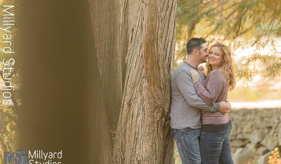 NH Engagement Photographer / Millyard Studios / Emily & Matt