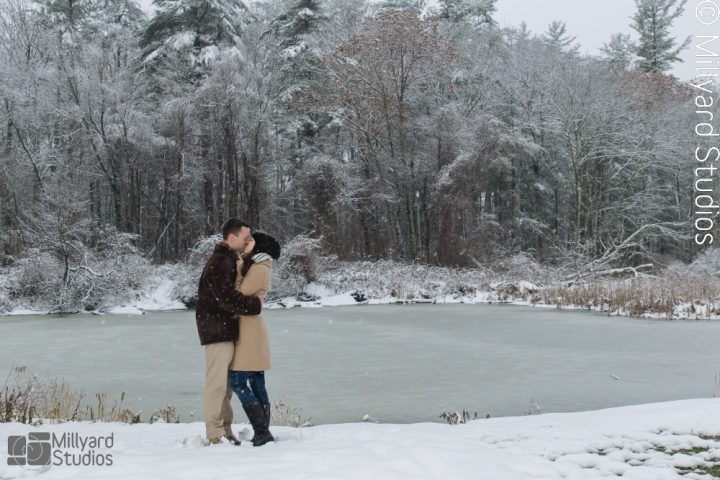 NH Engagement Photographer / Millyard Studios / Kristen & Michael