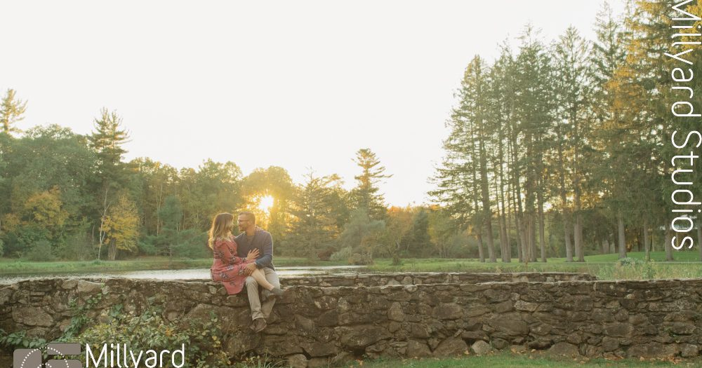 NH Engagement Photographer / Millyard Studios / Keri & Chad