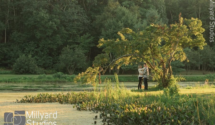 NH Engagement Photographer / Millyard Studios / McKenzie & Daniel