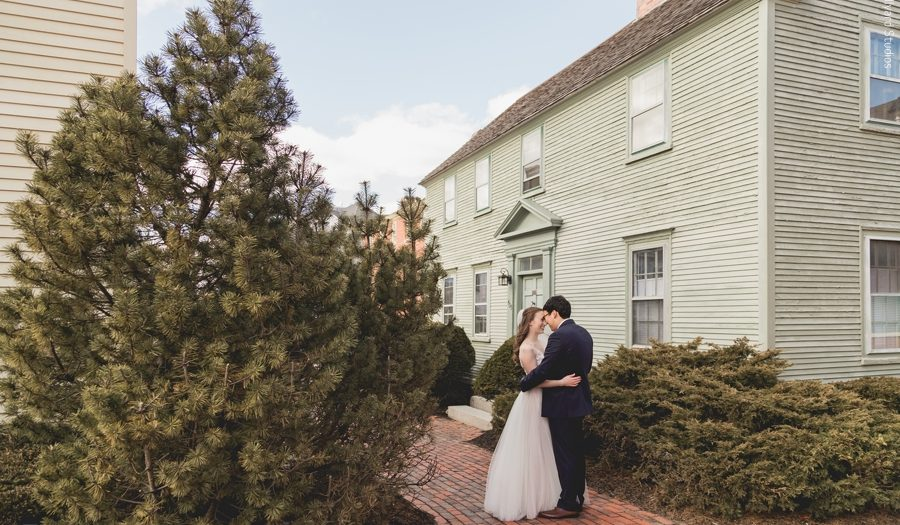 NH Wedding Photographer / Millyard Studios / Georgia & Alex / Portsmouth Harbor Events