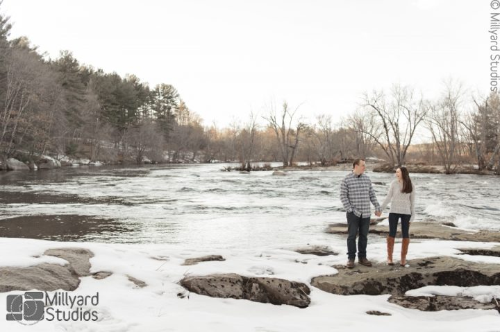 NH Engagement Photographer / Millyard Studios / Brooke & Marc