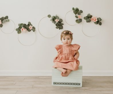 NH Baby Photographer Millyard Studios Cake Smash Session 1