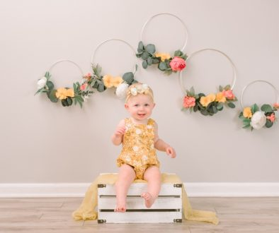 NH Baby Photographer Cake smash session 1
